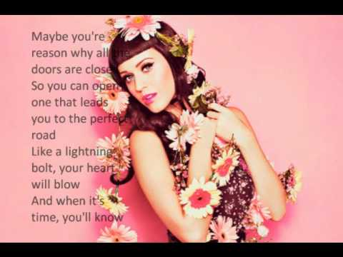 Katy perry lyrics firework