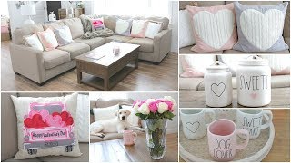 My Valentine's Day Decor   Decorating Ideas + Valentine's Day Decor Haul