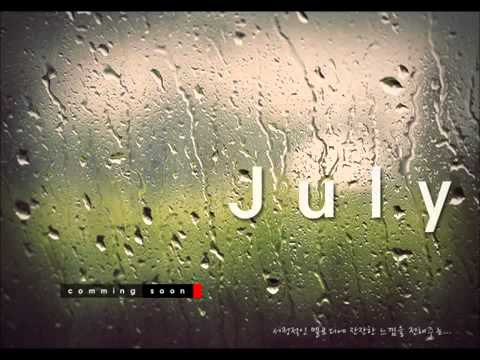 The song In Love, by July
