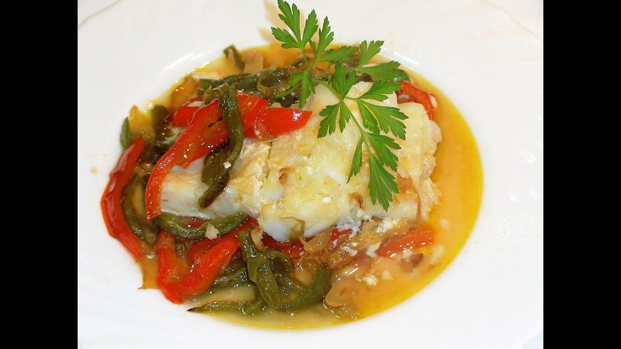 Receta Bacalao Con Verduras En Papillote Recetas De Cocina Paso A Paso Tutorial