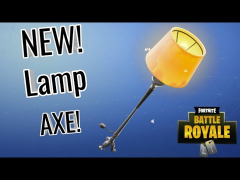 New Lamp Pickaxe Sound And Review!