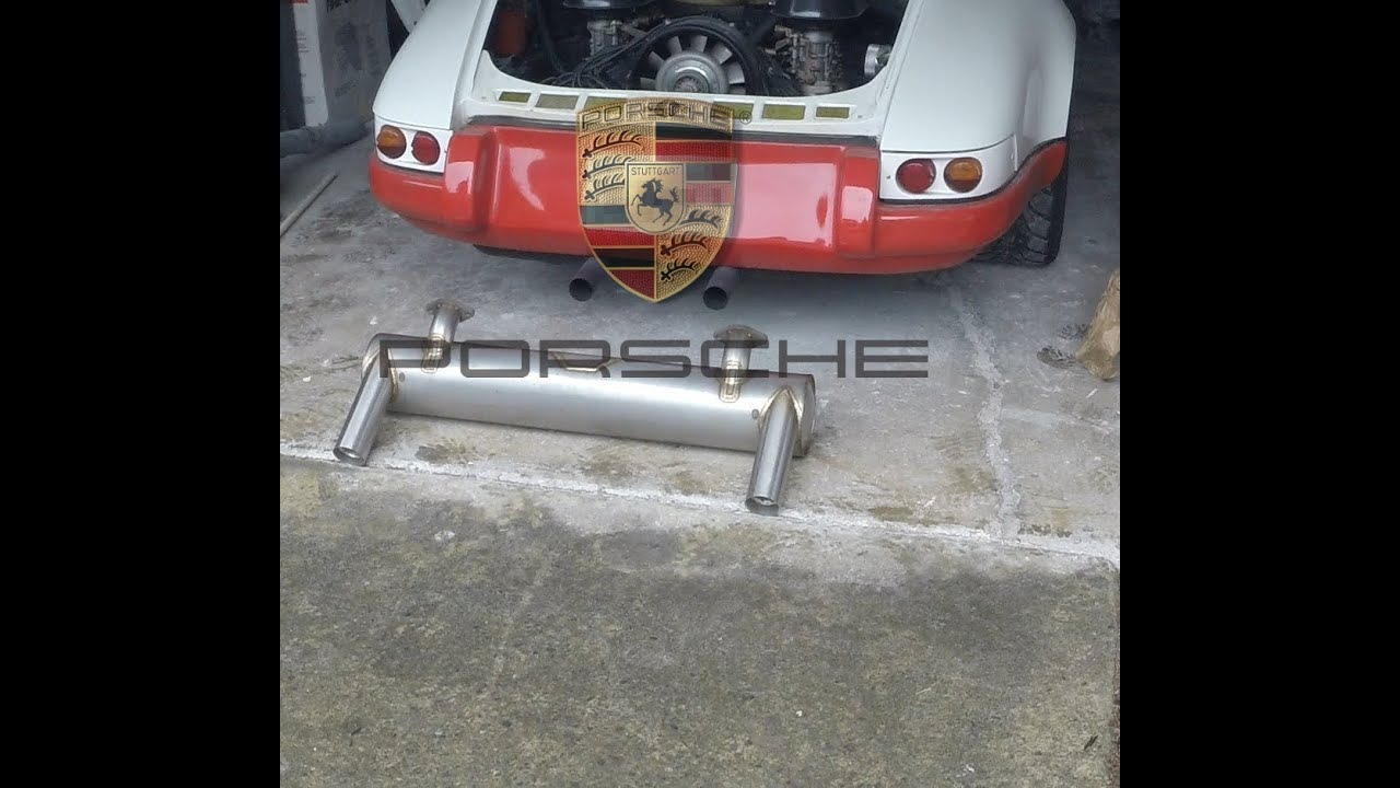 Porsche 911 Engine Swap: Nathan's 1969 911E Porsche Exhaust Swap