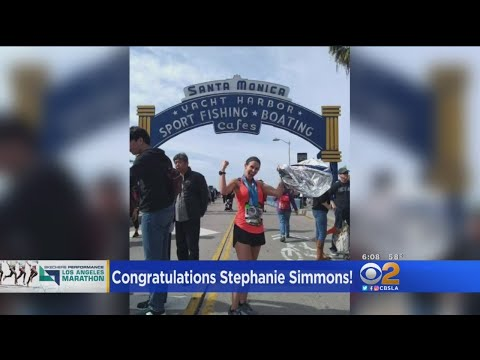 Our Stephanie Simmons Completes LA Marathon