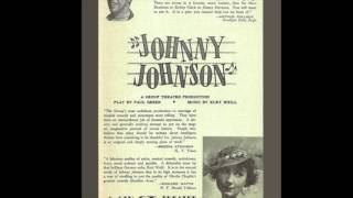 Johnny's Song from 'Johnny Johnson' (Weill and Green)
