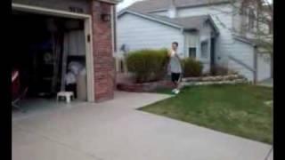 Crazy dunk