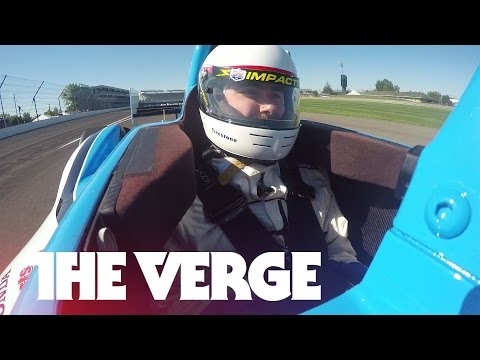 Doing 180 mph in an IndyCar with Mario Andretti
