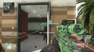 Call of Duty Black Ops 2 Multiplayer Insane Sniping Gameplay   720p 60fps