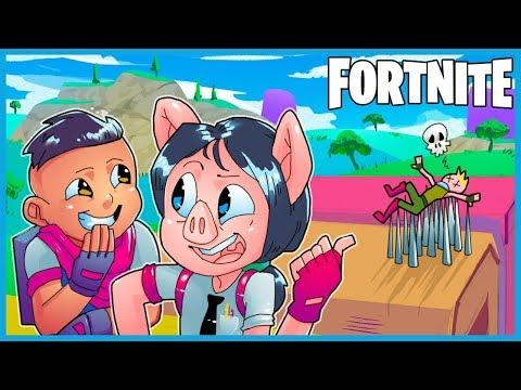 *NEW* DUSTY DIVOT TRAP GLITCH in Fortnite: Battle Royale! (Fortnite Funny Moments & Fails)