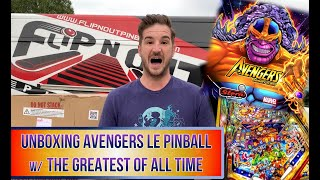 Unboxing Avengers LE Pinball w/ The Greatest Of All Time! (Stern Pinball, 2020) (SDTM)