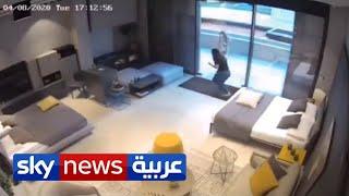 تداول فيديوهات جديدة مرعبة من انفجار مرفأ بيروت   منصات