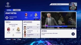LIVE DO EDINHO FIFA 19 UEFA CHAMPIONS LEAGUE COM O MILAN