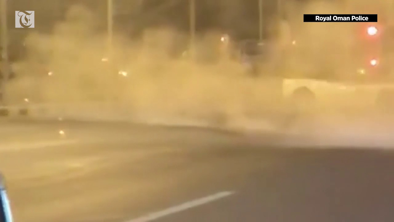 Person drifting car in viral video arrested: Royal Oman Police