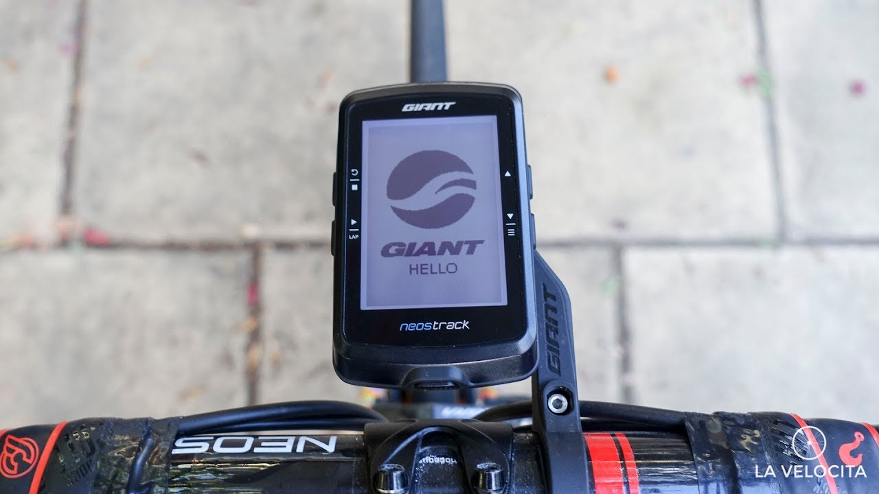 Giant Neostrack Cycling Gps Review Youtube
