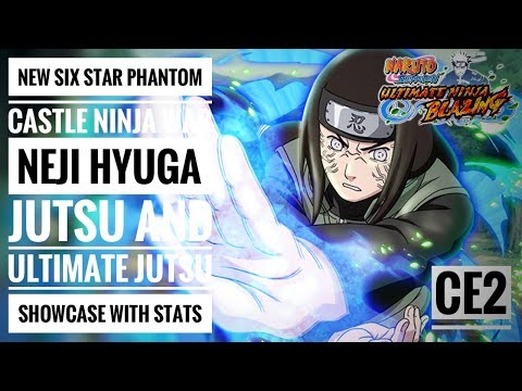 NEW SIX STAR PC NEJI HYUGA JUTSU AND ULTIMATE JUTSU SHOWCASE WITH STATS | NARUTO SHIPPUDEN ULTIMATE