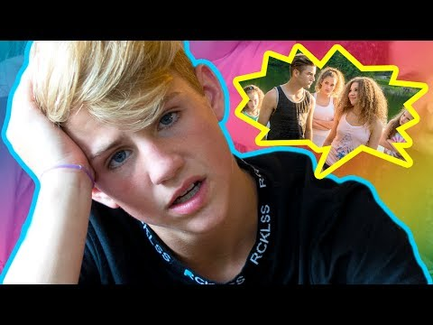 Thumbnail: MattyBRaps Reacts - When A Girl Likes A Boy (Haschak Sisters)