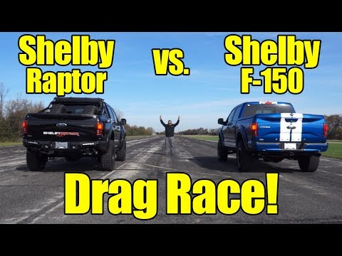 750HP Shelby F-150 vs. 525HP Shelby Baja Raptor! Who will win? Welcome to Kunes Country Prize Fights