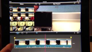 iPad Movie Editing Basics