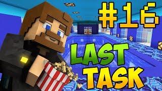 Minecraft LastTask 2 #16 - БАССЕИН В СПА ЗОНЕ ОТЕЛЯ