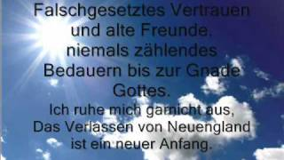 Ron Pope - A drop in the Ocean- Lyrics in German