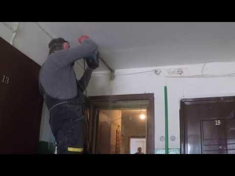 Замена электропроводки в квартире под натяжной потолок (без гофры) д. Глебовское