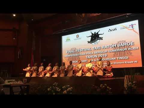 Ratoh Jaroe SMAN 12 Tangsel - Juara II Fest Ratoh Jaroe Piala Bergilir Gubernur Aceh 2019