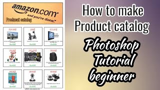 [9.03 MB] How to make Product catalog , Photoshop Tutorial beginner
