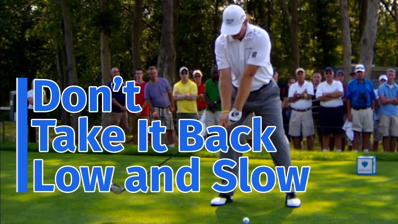 Want to Improve Your Backswing? Don't Take It Back Low and Slow