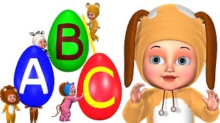 Nursery Rhyme ABC Song Alphabet songs for children! Phonics and Nursery Rhymes for  toddlers