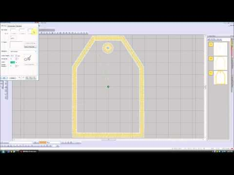 Stamp Tool Of Bernina Embroidery Software Version 6 Youtube