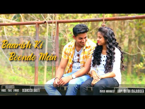Baarish Ki Boondo Mein Full HD Video | Ft. Sudip & Sanchita | Singer- Debasish | Lumding