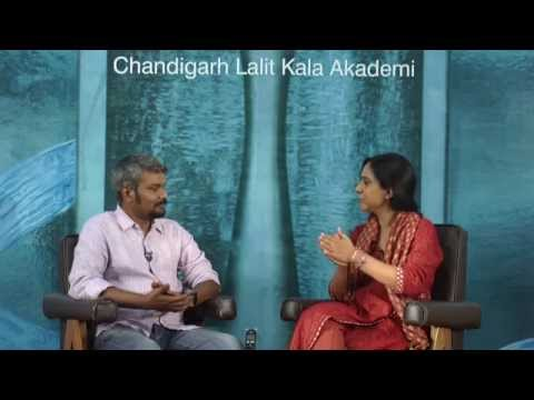 G R Iranna Interview with Parul : Chandigarh Lalit Kala Akademi