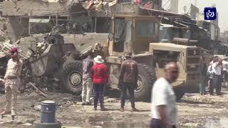 الاردن يستنكر التفجيرين الإرهابيين في العاصمة العراقية بغداد - (15-1-2018)