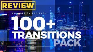100+ Transitions Pack | After Effects Template | Review