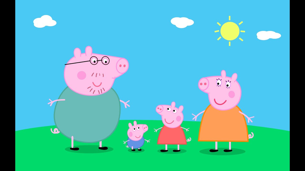 Peppa Pig Family Drawing And Coloring Easy Step By Lessons For Kids