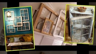 60+ Simple and Spectacular Ideas on How to Recycle Old Windows