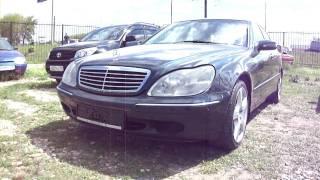 1999 Мерседес-Бенц S500. Обзор (интерьер, экстерьер).(, 2011-05-25T06:11:34.000Z)