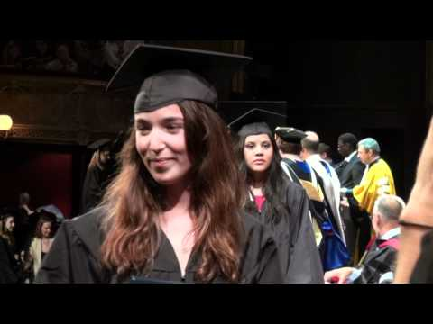 Commencement Exercises 2012 of The American University of Paris- Conferring Degrees