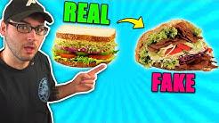 """""""REAL"""" = 🥪  """"FAKE"""" = 🥙"""