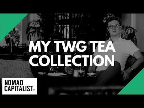 My TWG Tea Collection