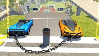 High Speed Jumps/Crashes #47 - BeamNG Drive Crash Testing