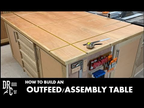 Outfeed / Assembly Table || How to build