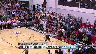 NBA Summer League: Toronto Raptors vs Los Angeles Lakers
