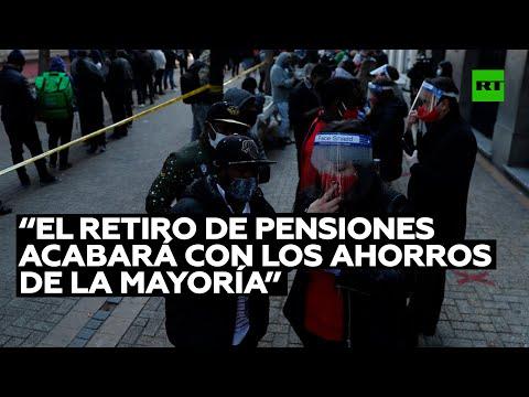 RT en Español: Experto: El segundo retiro de pensiones en Chile acabará con los ahorros de la mayoría