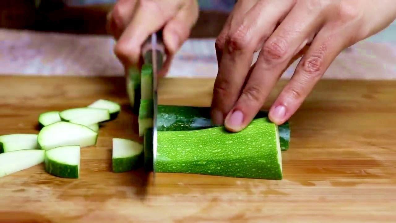 NON FRIGGERE le zucchine, 2 Ricette Deliziose!   #345