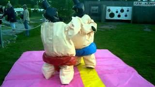 Sumo fight på Kronocampingen i lidköping