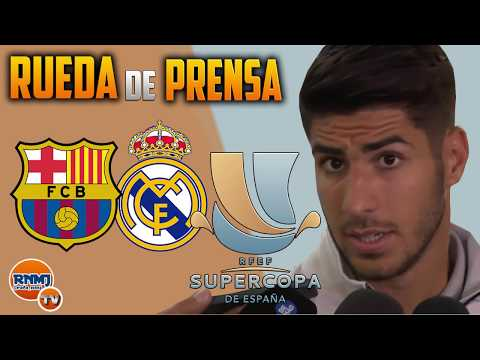 MARCO ASENSIO Post Match Interview - Barcelona 1-3 Real | FINAL SUPERCOPA ESPAÑA 2017