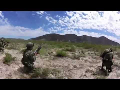 Realizan Fuerzas Armadas ejercicios con fuego real
