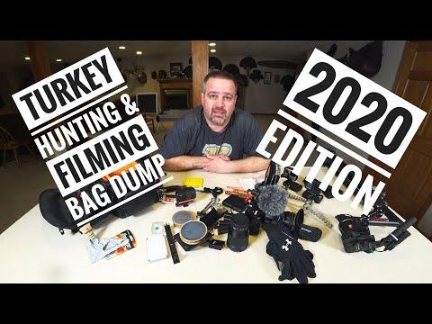 2020 Turkey Hunting & Filming Bag Dump
