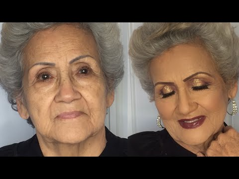 Maquillaje Para Abuelas - 3ra Edad - Rejuvenecedor- Piel Madura