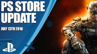 PlayStation Store Highlights - 13th July 2016